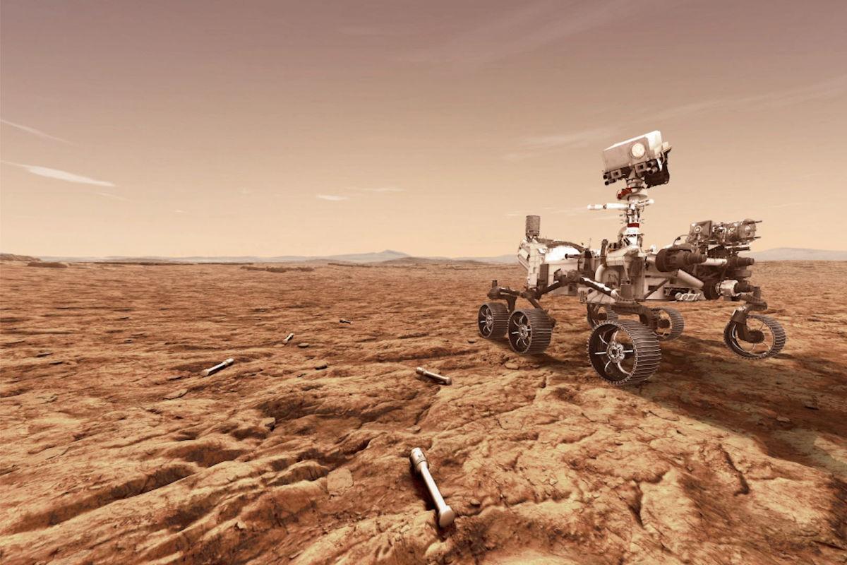 Так звучит Марс: NASA показали 360-градусную панораму Красной планеты со звуками марсианского ветра