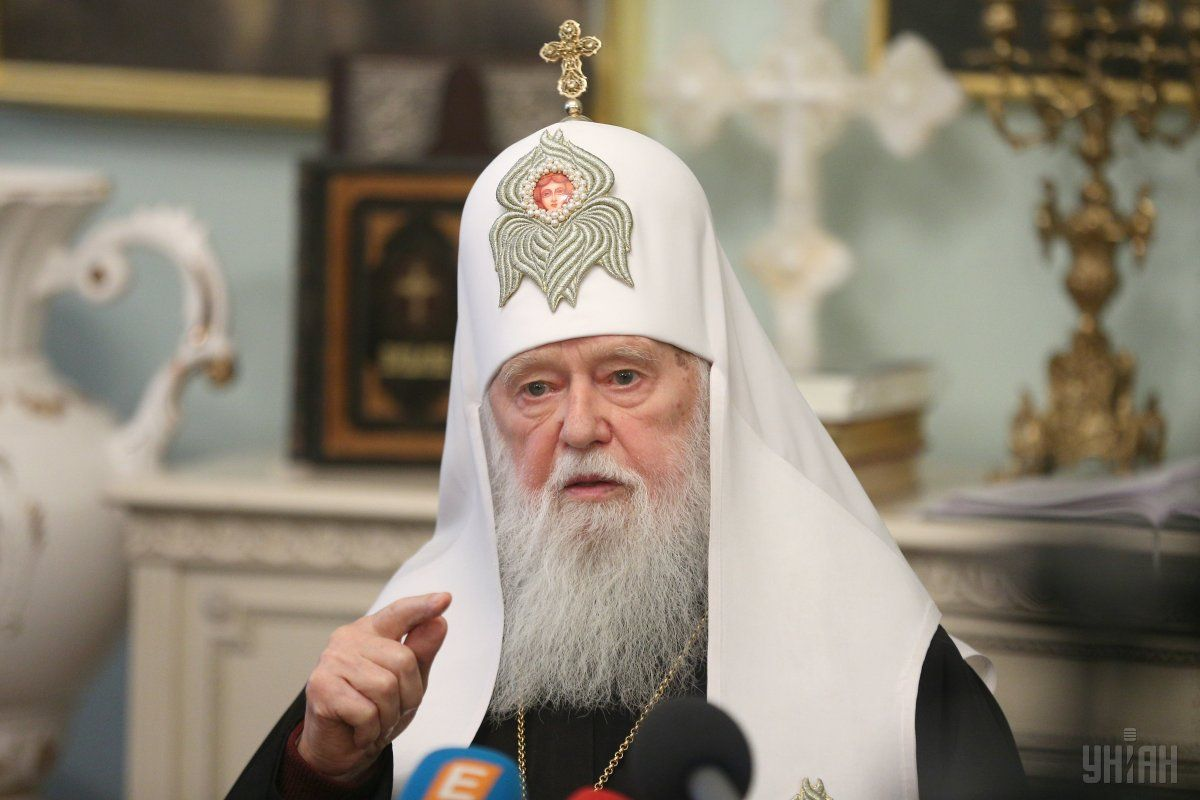 Затягивать не будут: патриарх Филарет заявил, что УПЦ может получить автокефалию уже на следующей неделе