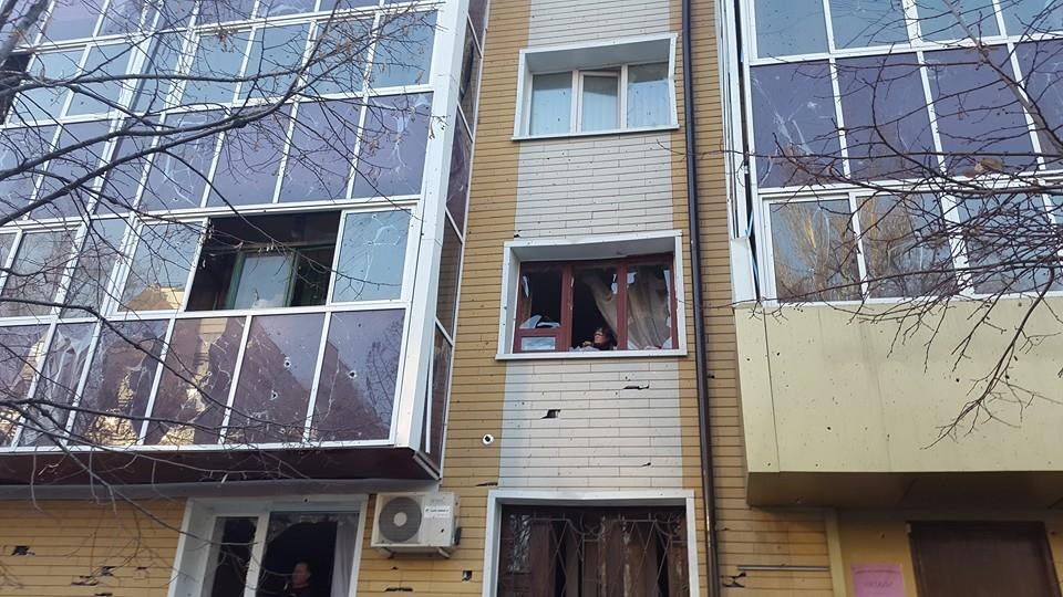 обстрел Донецка, АТО, ВСУ, Донбасс, восток Украины, армия Украины