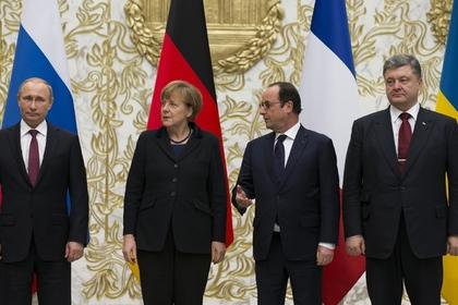 нормандская четверка, переговоры в минске, политика, владимир путин, петр порошенко, ангела меркель, франсуа олланд