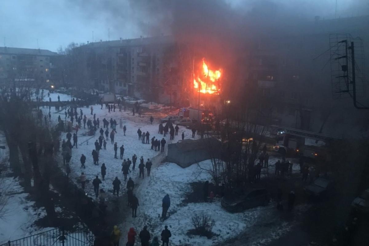 Россия, взрывы, магнитогорск, утечка газа, фото