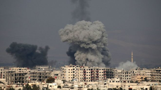 сирия, война в сирии, карта сирии, асад, россия, восточная гута, обстрел, скандал,химоружие