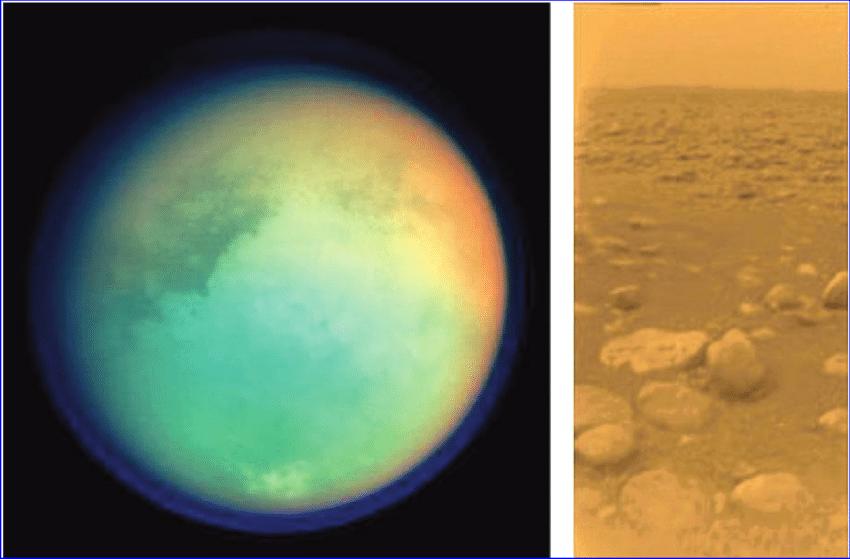 На спутнике Сатурна Титане нашли признаки жизни