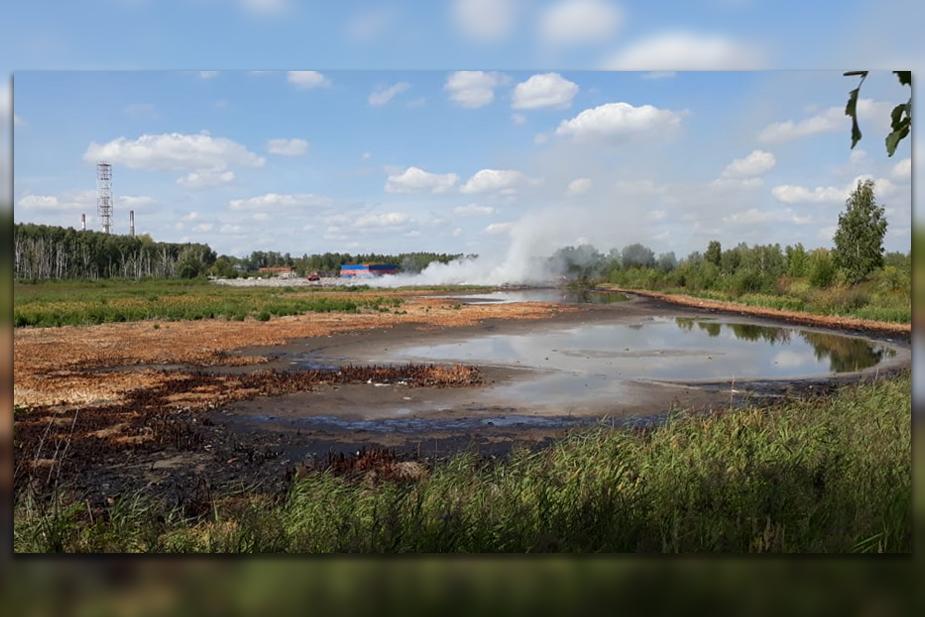 Россия, пожар, Рязань, катастрофа, полигон, химические отходы, жители