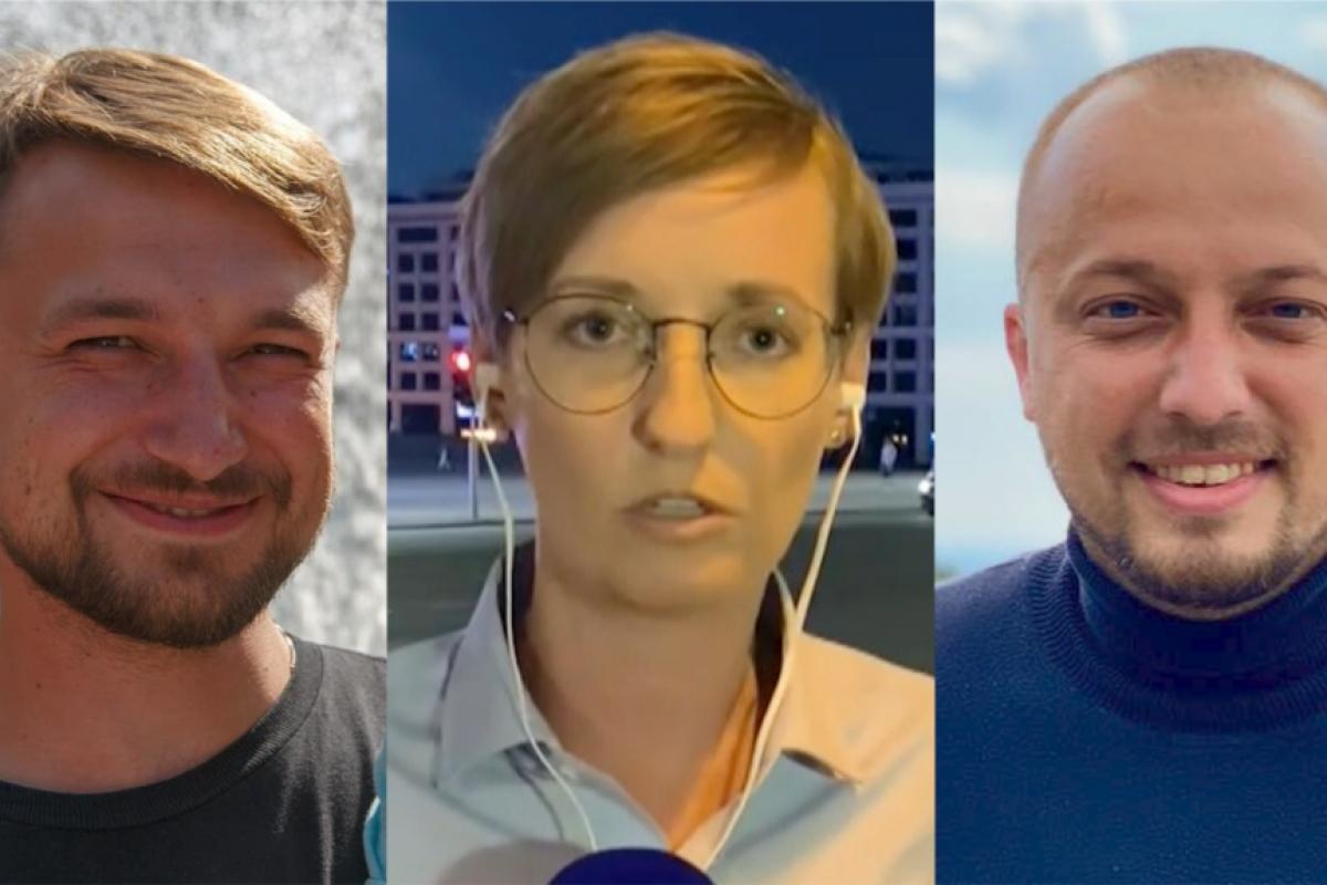 В Минске арестованы украинские журналисты Ромалийская и Гребенюк - силовики пришли за ними в гостиницу
