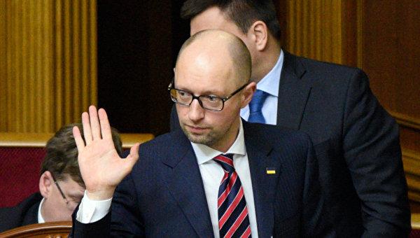 """""""Примите мою отставку, и тогда впереди нас будут ждать великие дела и большие победы"""", – Яценюк"""
