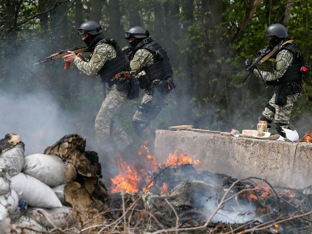 СМИ: украинские войска закрепились на окраинах Шахтерска