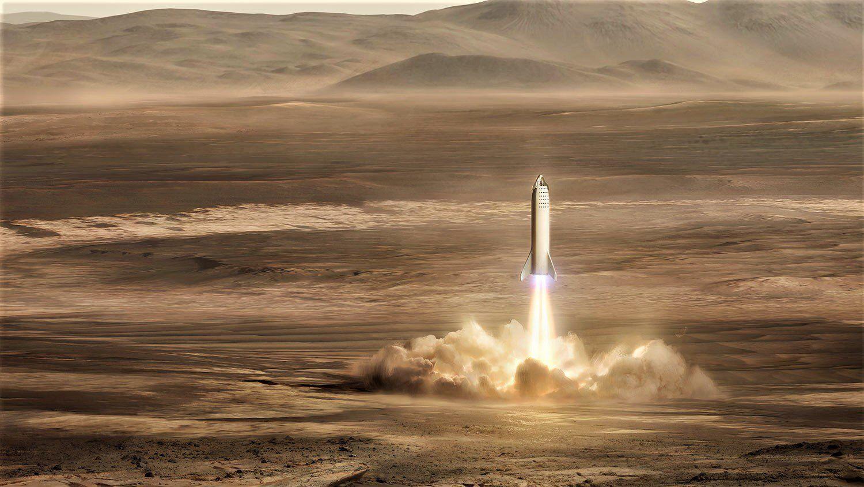 Внеземное топливо: ученые знают, как создать АЗС для космических ракет на Марсе