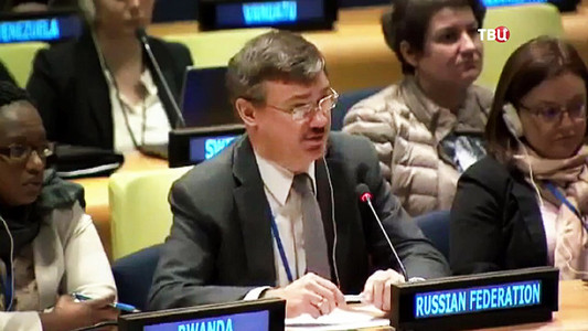 """Россия в Совбезе ООН """"окрысилась"""" на Украину, обвинившую ее марионеток в подрыве автомобиля ОБСЕ на Донбассе"""
