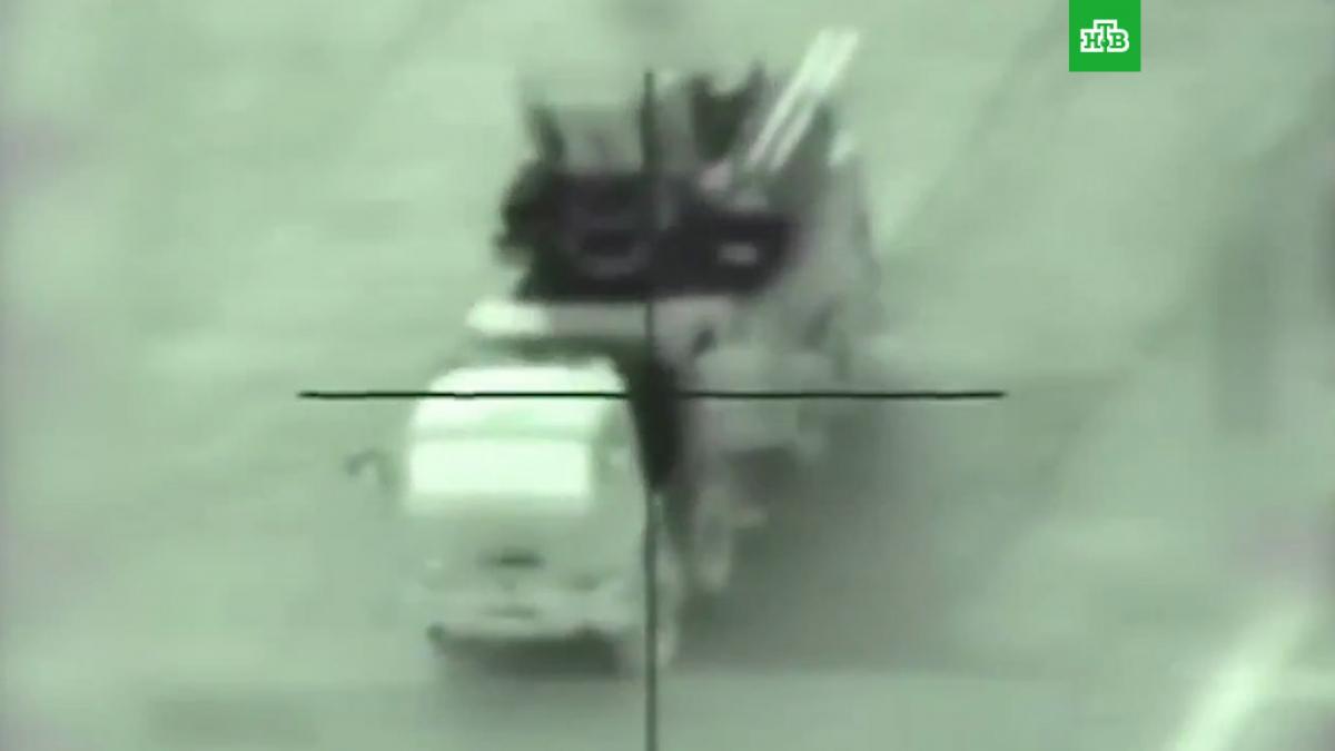 """""""Больше 1000 российских наемников"""", - в Ливии дроны разбомбили технику россиян и генерала Хафтара, видео"""