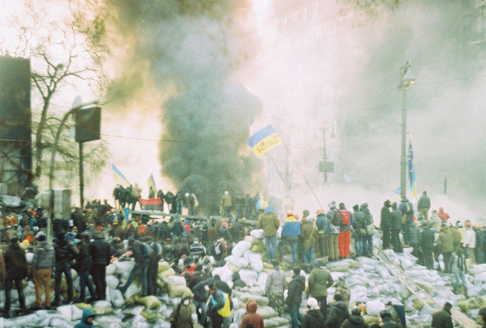 Опубликованы ранее не известные фотографии Евромайдана - экслюзивные кадры