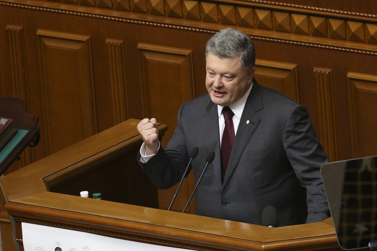 Вернуть Донбасс любым путем: Порошенко анонсировал важный законопроект по Донбассу