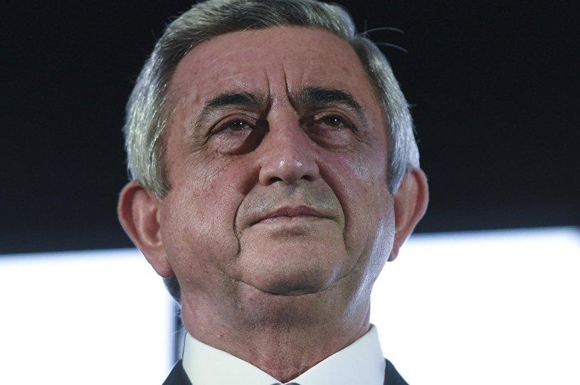 У свергнутого узурпатора Армении Саргсяна проблемы - Запад хочет заморозить его офшоры