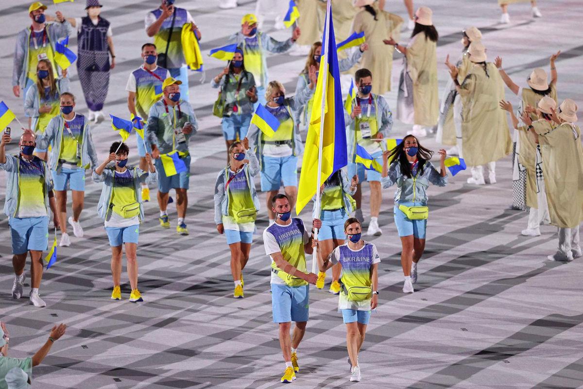 На открытии Олимпиады 2020 в Токио Украину представили Чернобылем