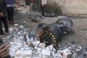 Подорвал себя гранатой, боясь попасть в руки исламистов. Опубликовано видео последних секунд жизни  пилота Су-25, сбитого в Сирии – кадры