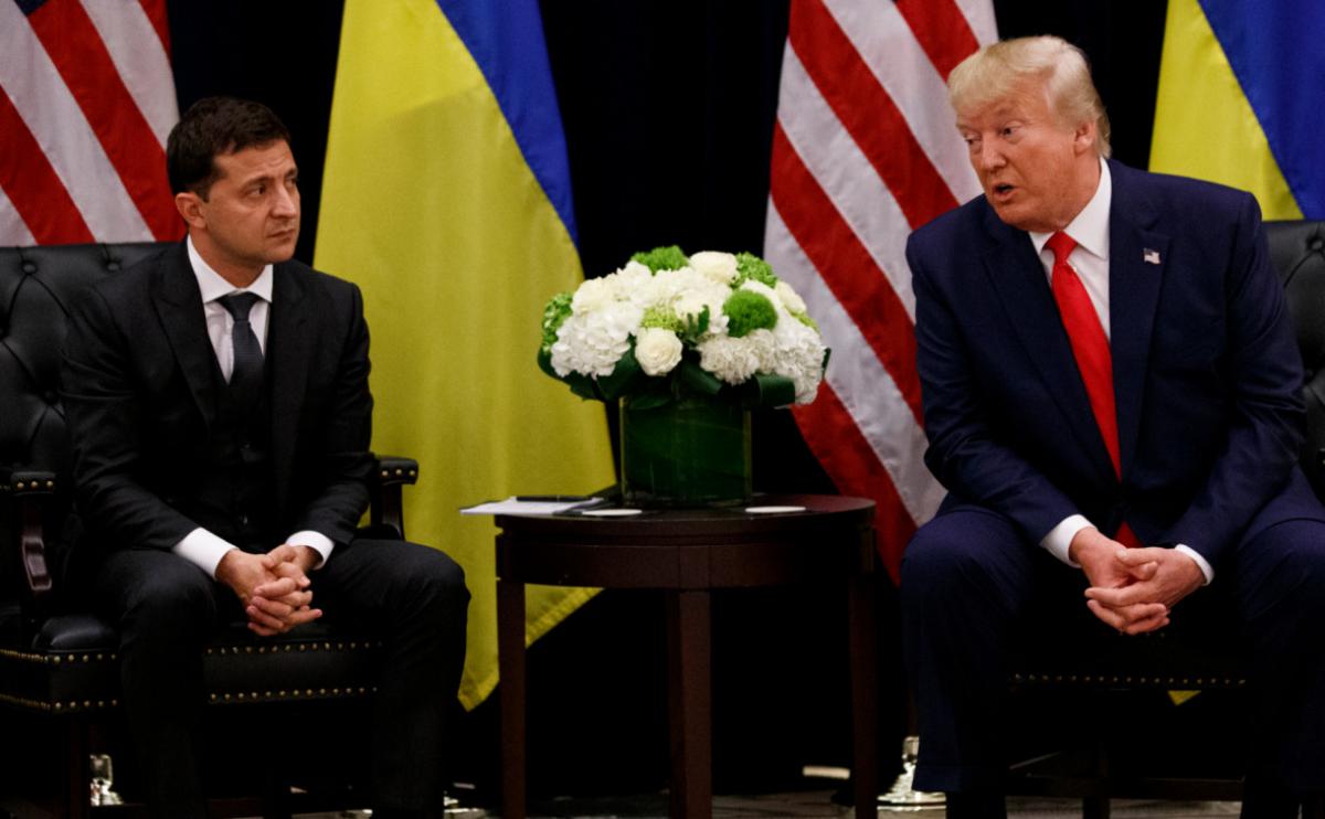Украина, США, Импичмент, Трамп, Зеленский, Обращение.