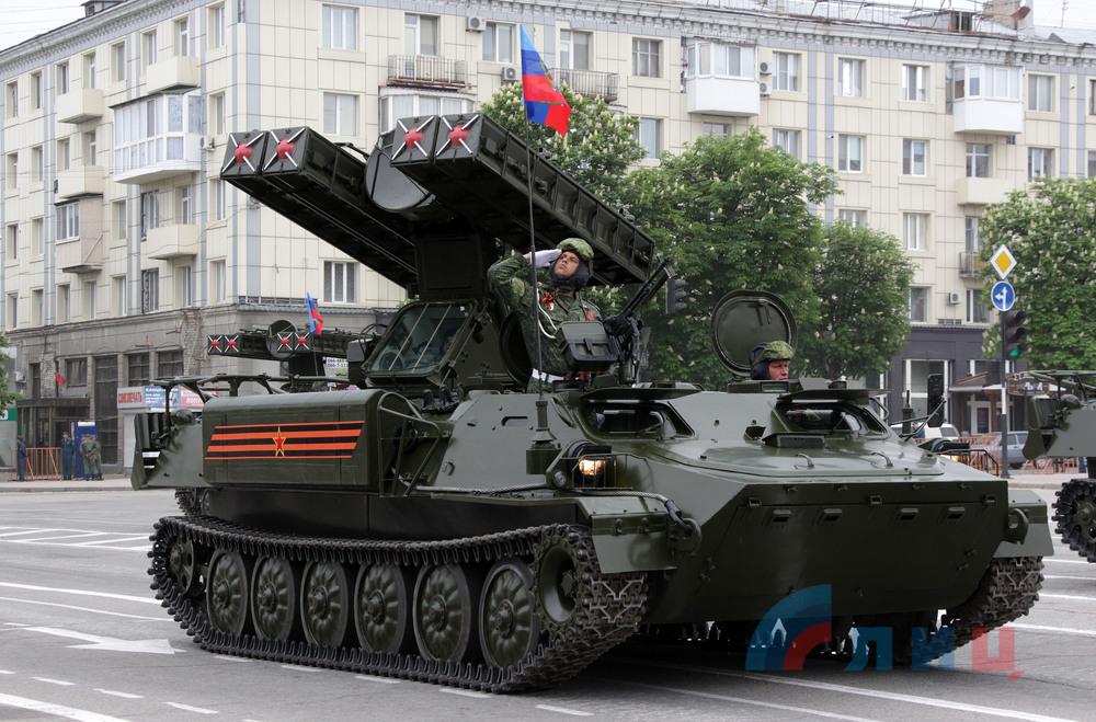 9 мая, луганск, техника, парад, лнр, донбасс, парад победы в луганске, vodafone, мтс, террористы