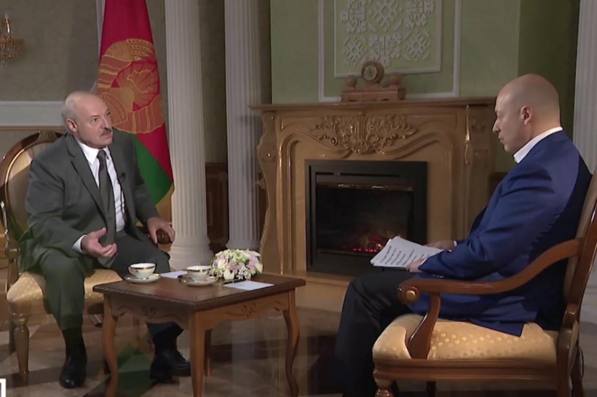 Очередная провокация. Лукашенко дал интервью агенту СБУ Дмитрию Гордону