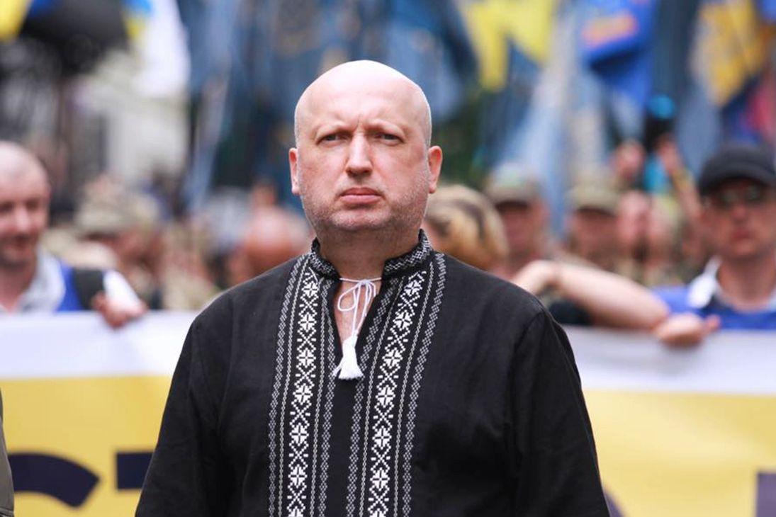 """Турчинов: """"Каждый регион Украины должен стать крепостью, способной перемолоть противника"""""""