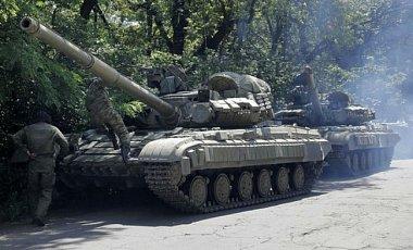 """В районе Авдеевки боевики """"ДНР"""", не скрываясь, используют тяжелую бронетехнику – Тымчук"""