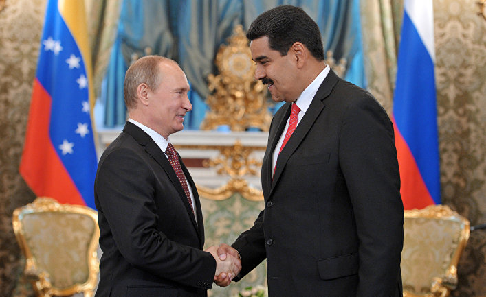 Коварный план Путина по Венесуэле: американские СМИ раскрыли, зачем главе РФ Мадуро