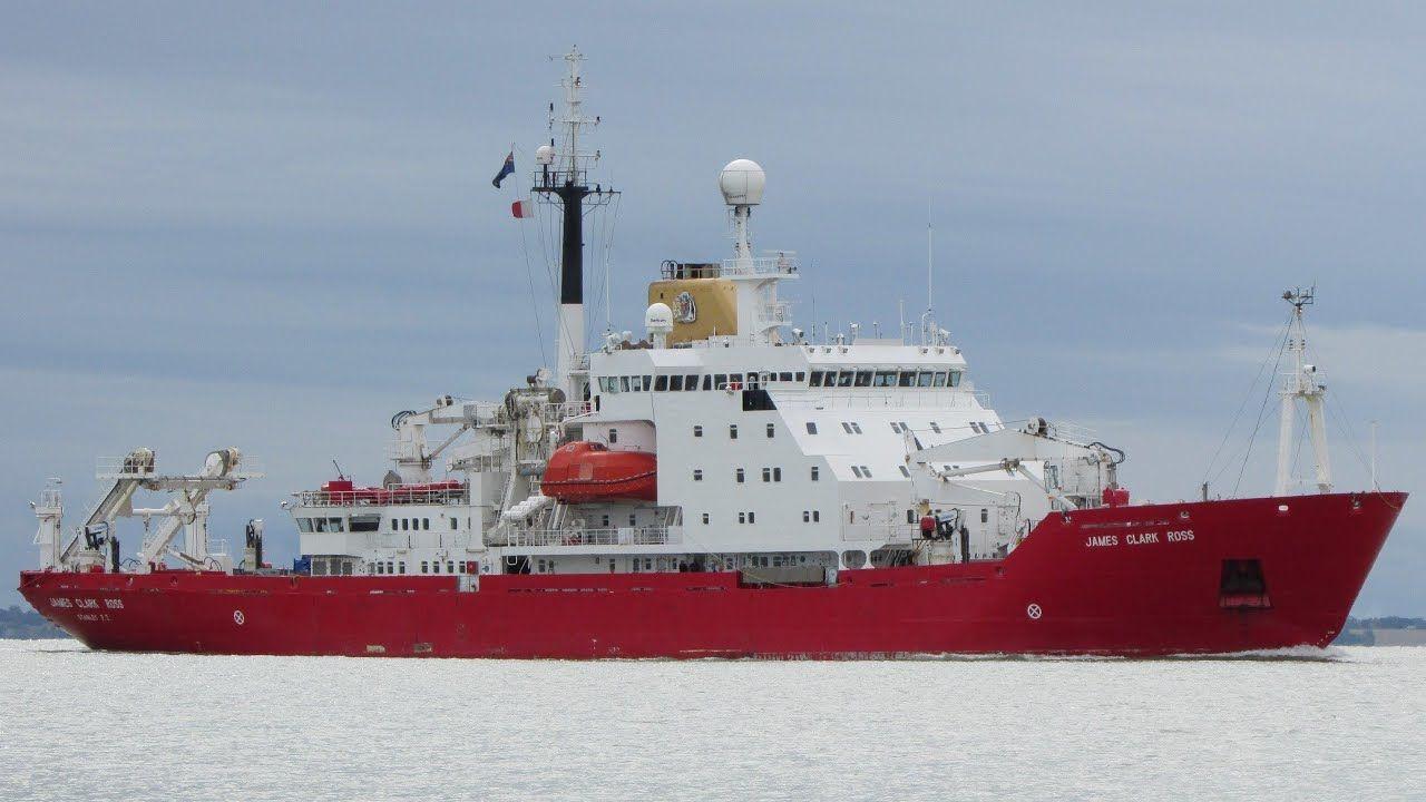 Впервые за 30 лет украинский научный флот пополнился новым британским ледоколом
