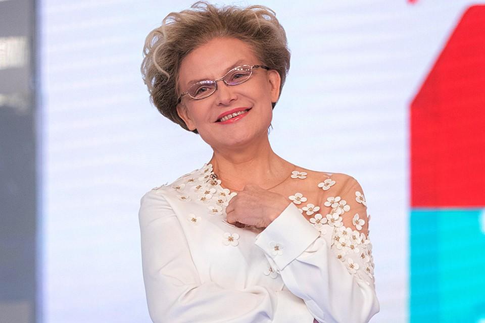 Елена Малышева, летедоктор, ведущая, свое, пенсия, пенсионный возраст