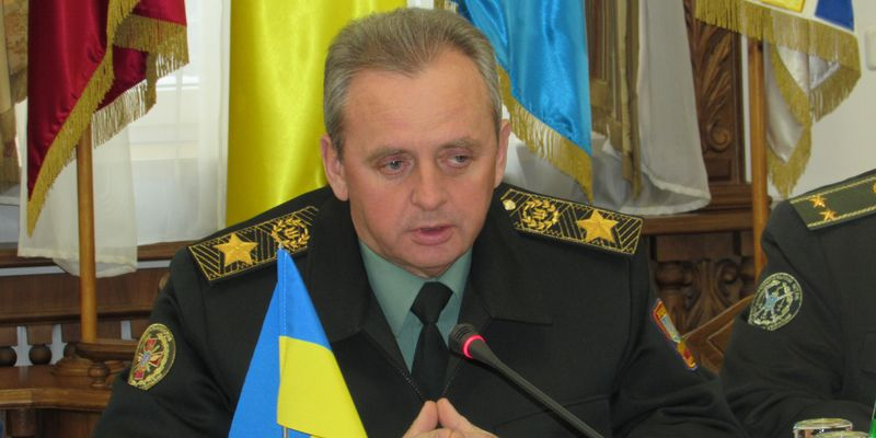 Россия наращивает военную мощь у границ Украины - начальник Генштаба ВСУ Виктор Муженко