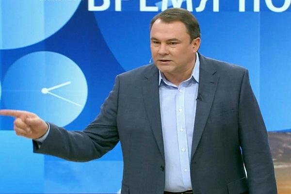 """""""Украина была, есть и будет наша"""", – вице-спикер Госдумы Петр Толстой со скандальным заявлением в телеэфире. Кадры"""