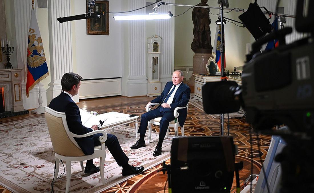 Первое за три года интервью Путина СМИ США - журналисту NBC поставили непростое условие