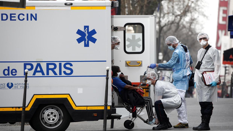 COVID-2019, пандемия, франция, коронавирус, болезнь