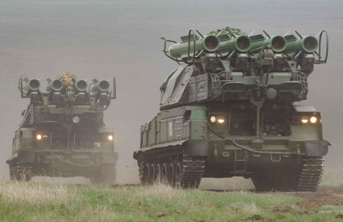 Украина усилила систему ПВО у границы с Россией