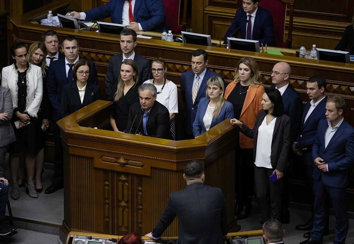 Украина, Голос, Политика, Рахманин, Донбасс, Заморозка конфликта.