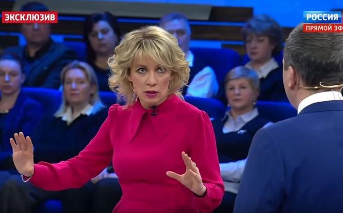 """Ядерная """"дубина"""" как последний аргумент. Захарова устроила шоу на ТВ из-за ультиматума Лондона: """"Кому дают они 24 часа? Ядерной державе?"""" - кадры"""