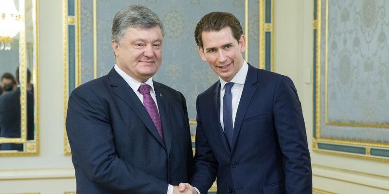 новости, Украина, Австрия, Порошенко, Курц, встреча, переговоры, результаты, итоги, год украинской культуры в Австрии, культура