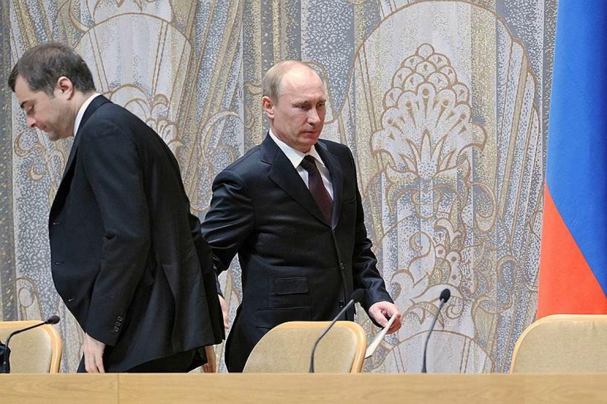 сурков, украина, россия, кремль, путин, донбасс, оккупация, война, отставка, зеленский