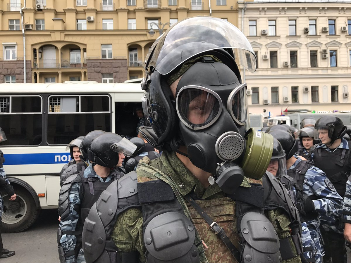 В Москве творится невообразимое: в панике от огромного числа митингующих власть идет на крайние меры