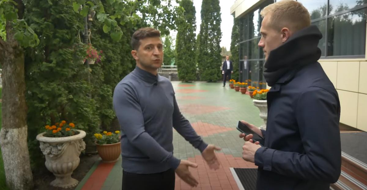 """Зеленский про условия отставки Авакова: """"Я никому ничего не должен"""""""