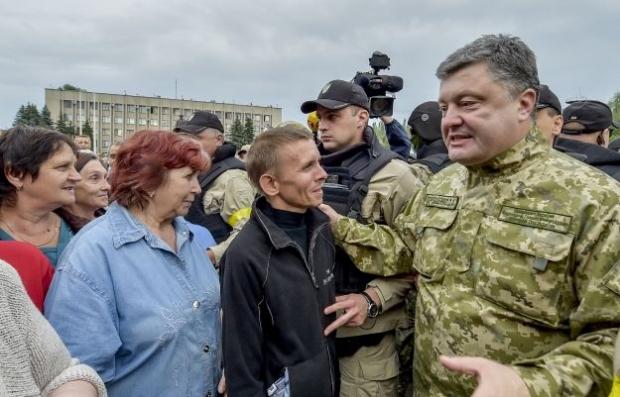 Порошенко хочет «заморозить» конфликт на Донбассе?