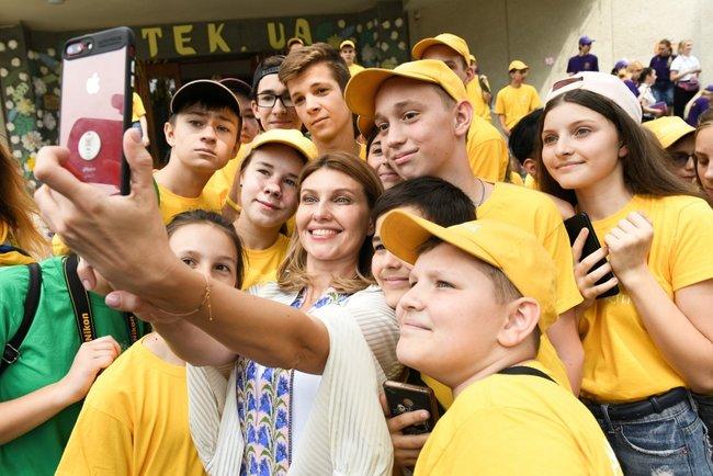 Артек, Елена Зеленская, лагерь, Крым, визит, первая леди, годовщина