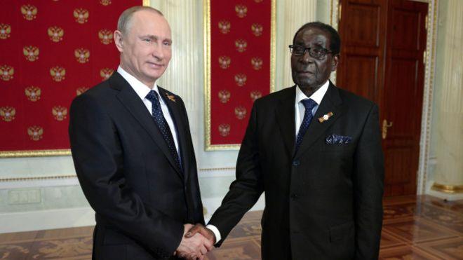 Россия, Зимбабве, санкции, мир, общество, политика, Владимир Путин, Роберт Мугабе, США, Евросоюз