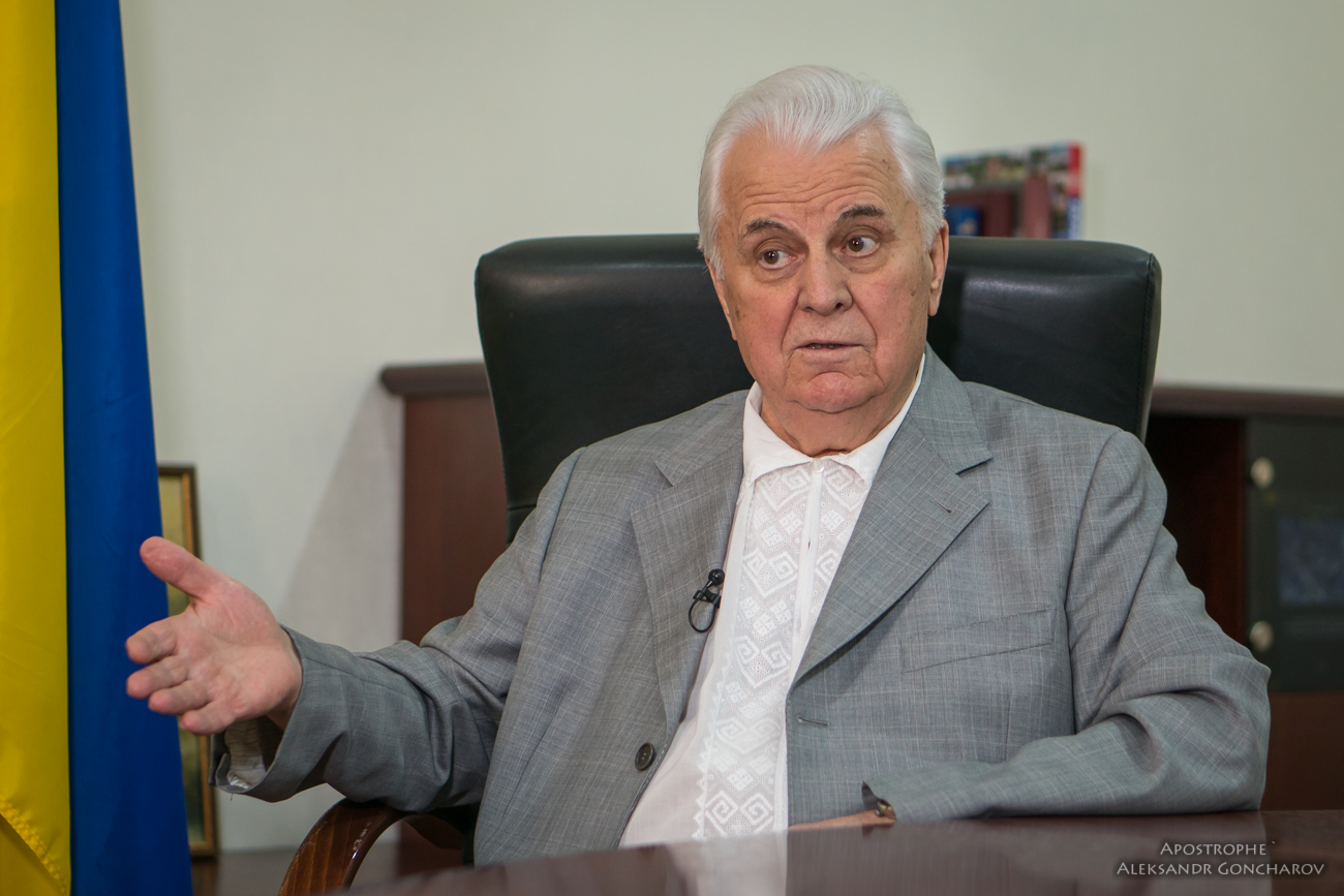 Экс-президент Кравчук рассказал, каким образом вернуть аннексированный Крым