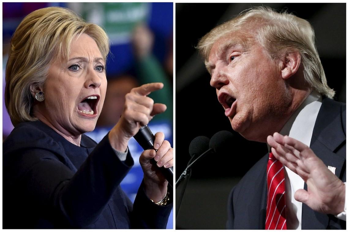 Хиллари Клинтон вырвалась вперед на праймеризе: Трамп потерял один из ключевых штатов