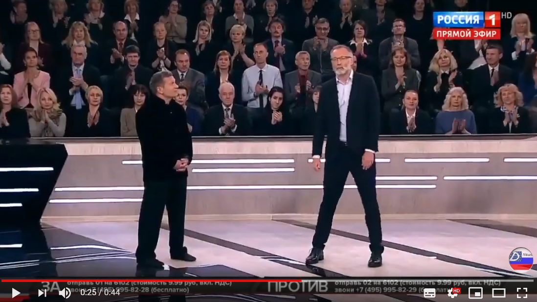 Россия, телевидение, пропаганда, Михеев, Ковтун