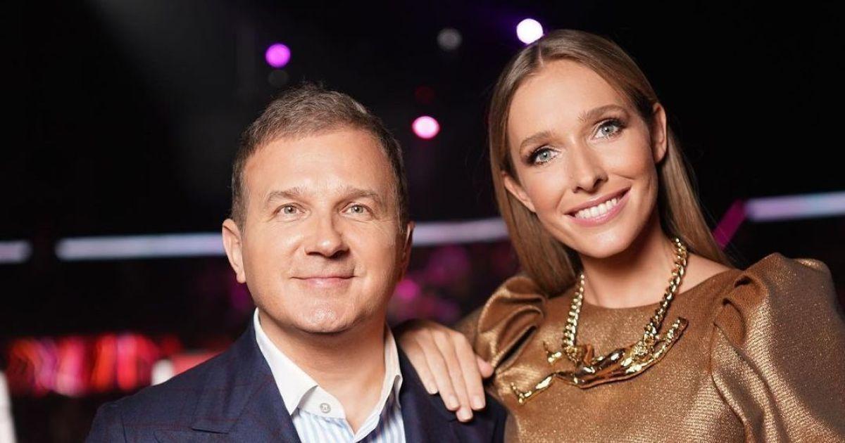 """Юрий Горбунов показал """"честное"""" фото с Катериной Осадчей, которую поздравляют с беременностью"""