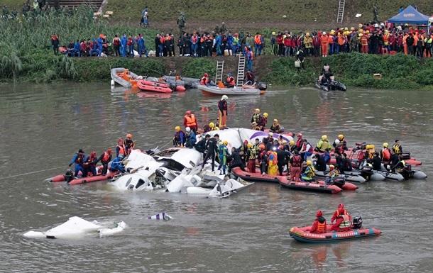 Авиакатастрофа: У тайваньского самолета отказали оба двигателя