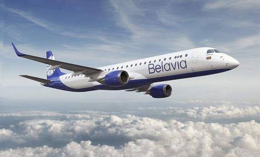 """Самолет авиакомпании """"Белавиа"""" пытался """"прорваться"""" в Барселону через Польшу"""