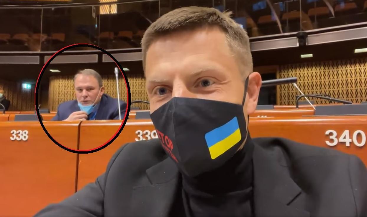 Гончаренко потроллил Толстого в зале ПАСЕ – депутат российской Думы не сдержался