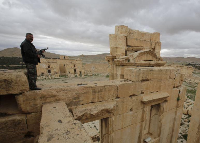 сирия, игил, война в сирии, бои, пальмира, захват, освобождение, башар асад
