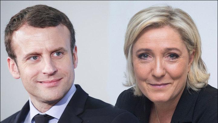 Макрон все больше увеличивает разрыв с Ле Пен: до окончания голосования - считанные часы, напряжение нарастает - СМИ